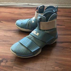 Nike Lebron Custom Baseball Cleats Size